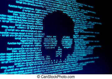 malware, informatique, attaque