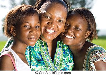 mamá, africano