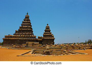 Mamallapuram, shore temple, India