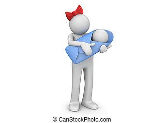 mami y bebé, -, estilo de vida, colección