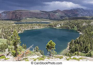 Mammoth Lakes in Sierra Nevada