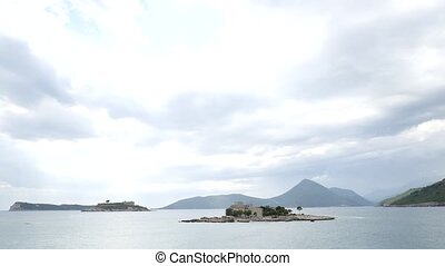 Mamula Island, a former concentration camp in Montenegro