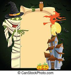 mamusia, halloween