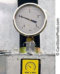 manómetro
