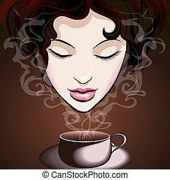 manželka, udělat si rád, zrnková káva