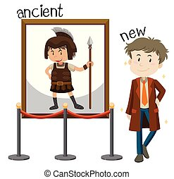 Man ancient vs new