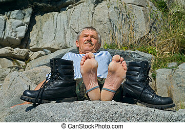 Man and boots 2