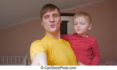 Man And Boy Air Kiss