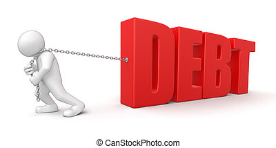 Man and debt