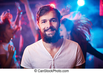 Man at disco