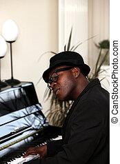 Man at the Piano