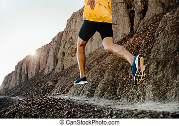 man athlete running