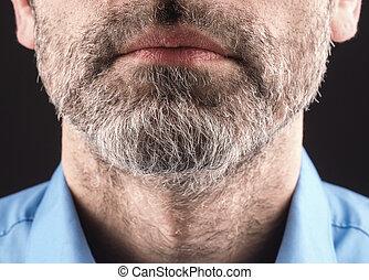 man, baard