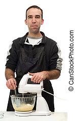 Man Baking Cookies