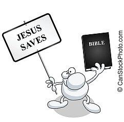 man, bijbel