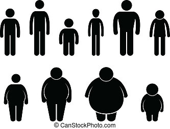 Man Body Figure Size Icon