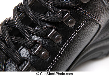 Man boot laces