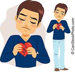 Man Broken Heart
