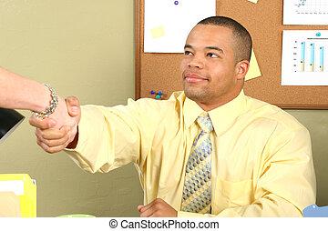 Man Business Hands
