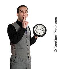 Man Changing Deadline