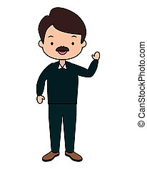 man character cartoon