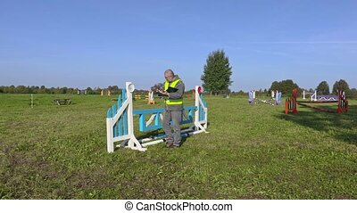 Man check required hurdle height