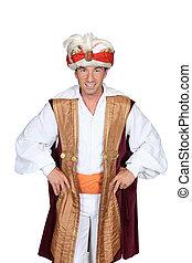 Man dressed as a genie