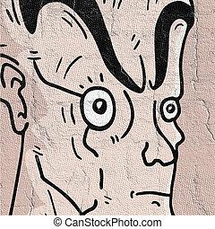 man expression design