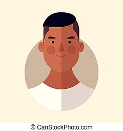 man face cartoon