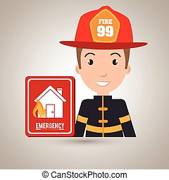 man fire hydrant icon