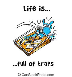 Mouse Trap Illustrations And Clip Art 709 Mouse Trap