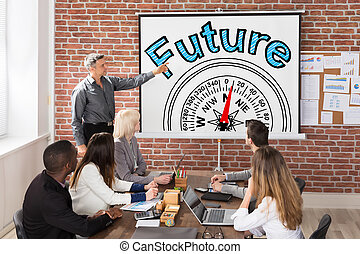 Future And Compass Guidance Concept Presentation