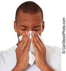Man got a cold