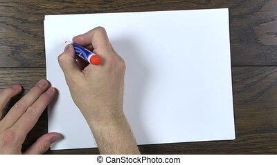 writing i love you