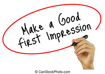 how to make a good impression on first meeting