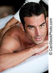 Man Having Massage