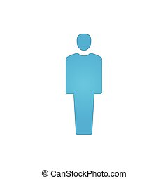 man icon illustration isolated vector sign symbol