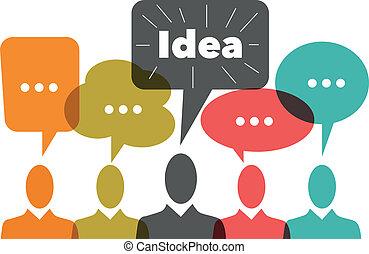 man, idee, zakelijk