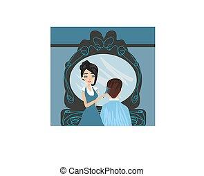 man in a beauty salon