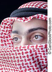 Man in arab clothing