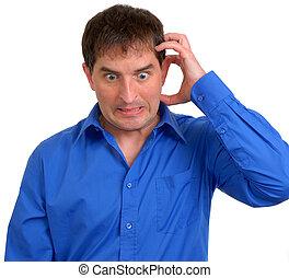 Man in Blue Dress Shirt 5