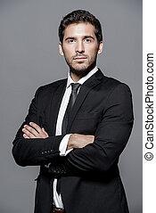 man in formal suit