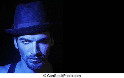 Man in hat