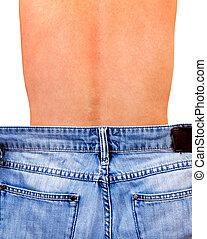 Man in Jeans Bottom