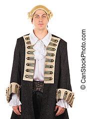 Man in medieval costume