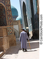 Man in Samarkand