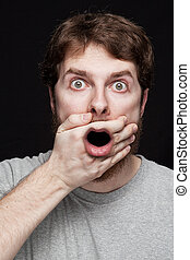 Man in shock after finding secret news