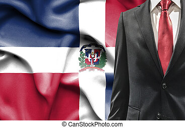 Man in suit from Dominican Republic