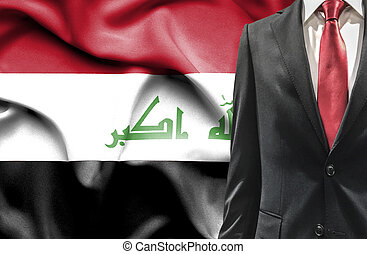 Man in suit from Iraq