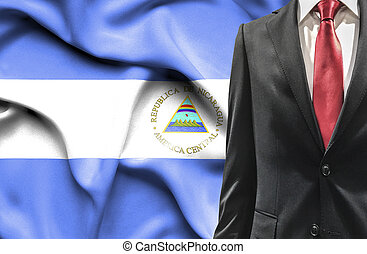 Man in suit from Nicaragua